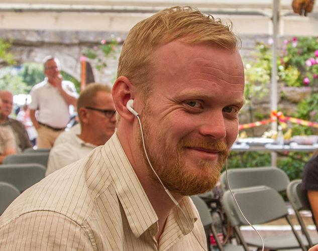 Andreas Ericsson på Forum