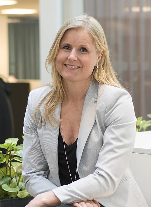Charlotte Vikström, produktexpert inom kontor på Castellum.