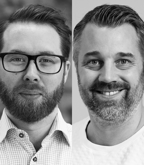 Dennis Meijer och Lukas Ringqvist