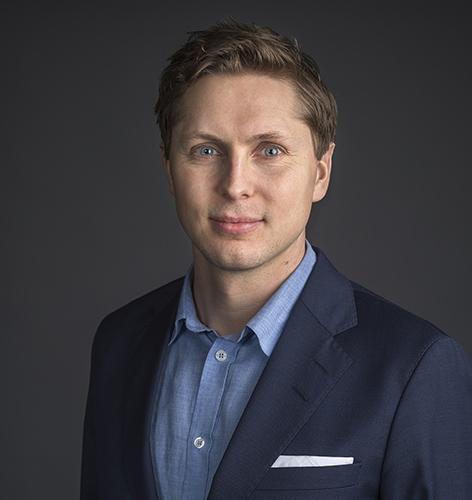 Johan Lindahl, talesperson på Svensk solenergi