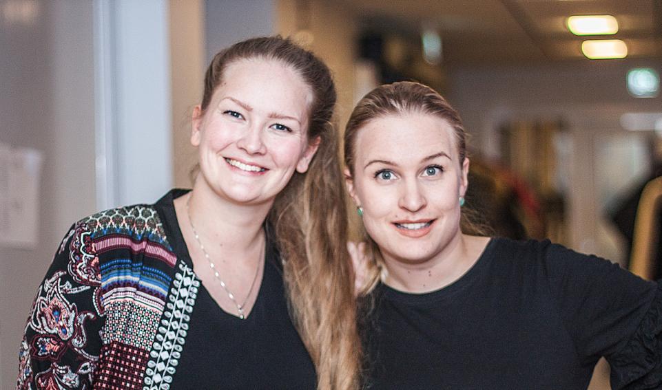 Maria Paavola och Maria Norberg