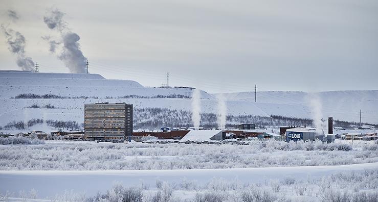 Bild: När man bor uppe i Malmfälten och har ett  regionkontor 35 mil bort så är man lite avskild. Då kan det kännas bra att prata med folk man redan känner till, menar Sakari Alanko.