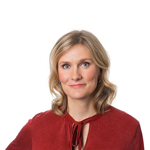 Katarina Lundahl, chefsekonom på Unionen