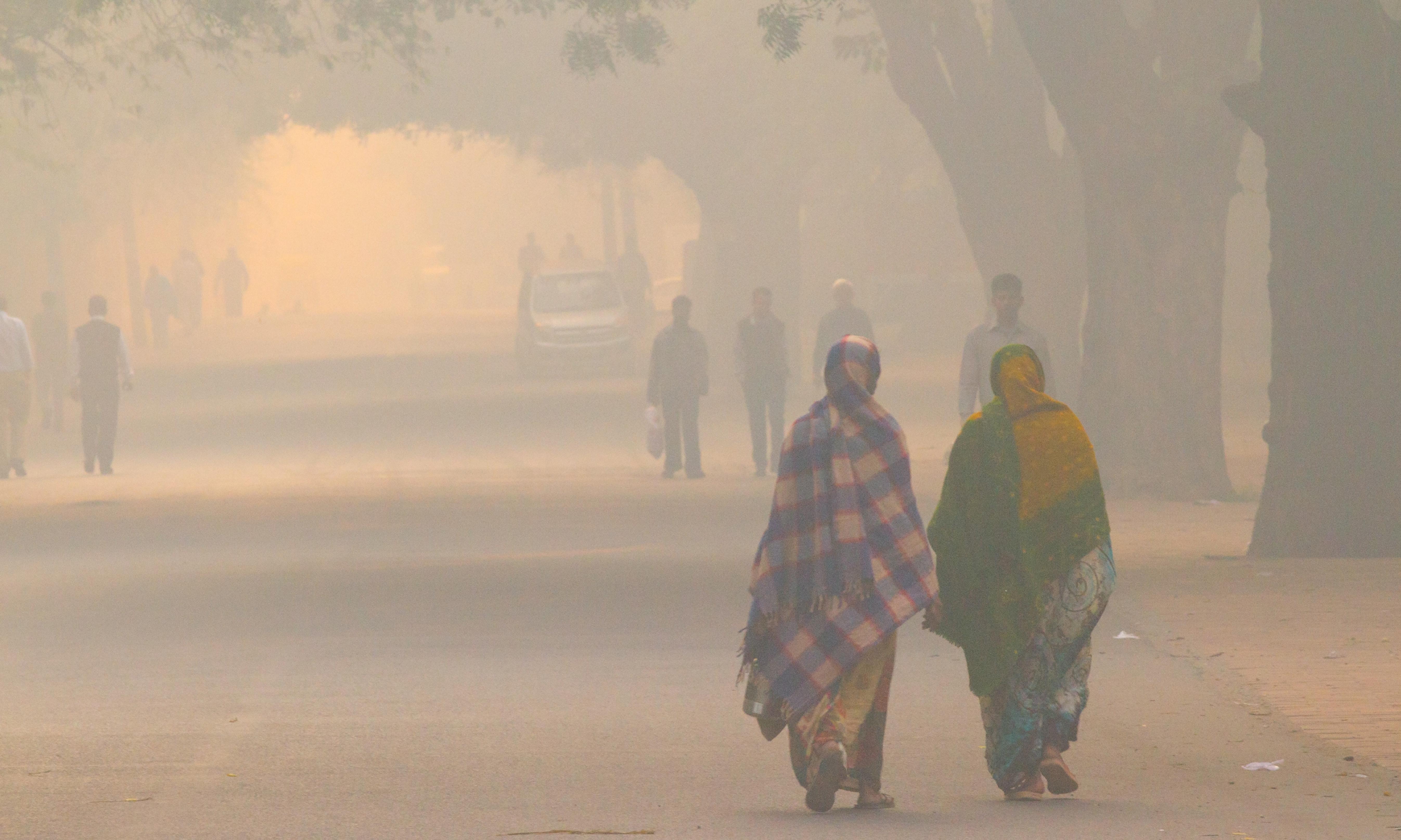 Luften i Indien