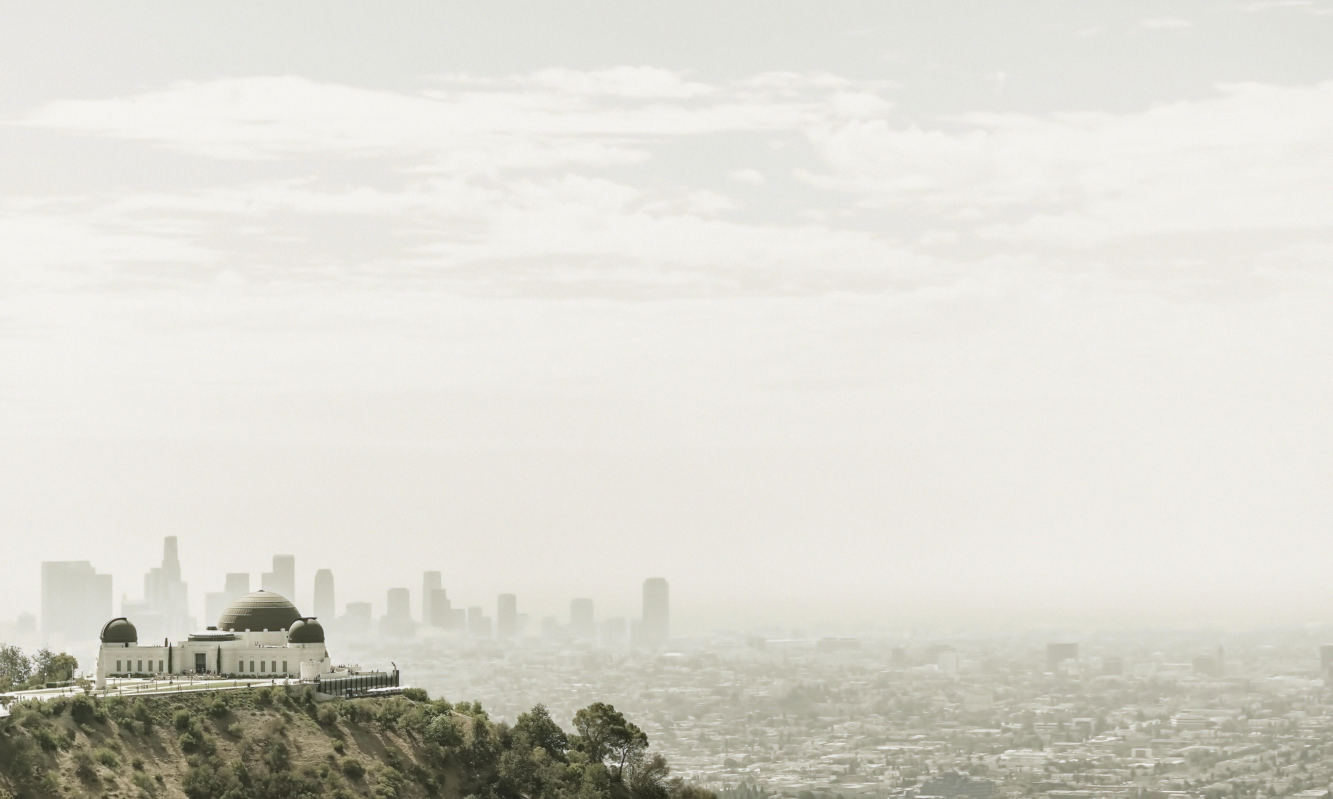 Luften i Los Angeles