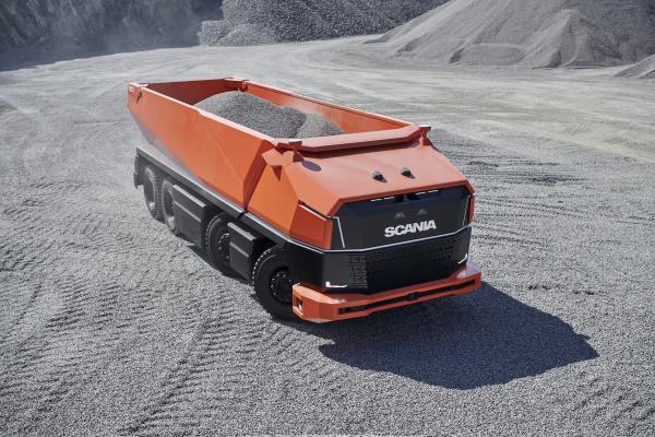 Lastbil från Scania