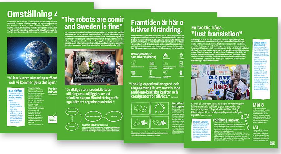Gröna affischer framtid