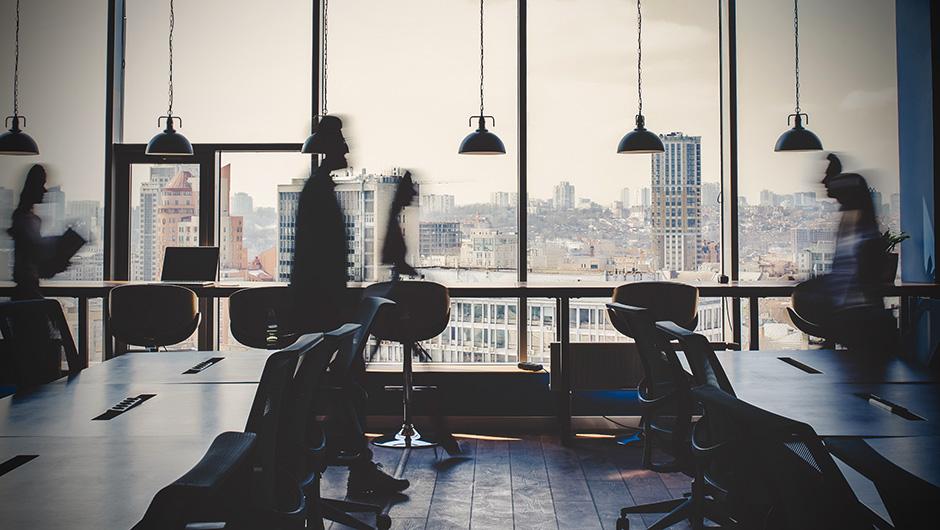 kontor och människor
