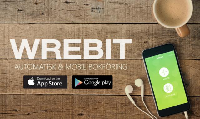 Bokföring och fakturering i mobilen med Wrebit
